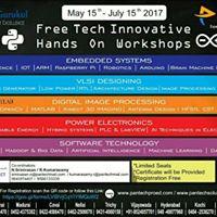 Free Tech Innovative Hands on Workshops