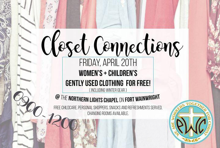closet connections at northern lights chapel ft wainwright fairbanks