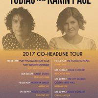 Tobias and Karin Page Co Headline Tour - Fitzroy VIC