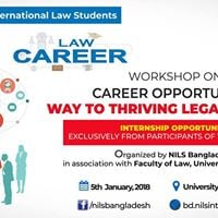 Workshop on Career Opportunity Way to thriving Legal Industry