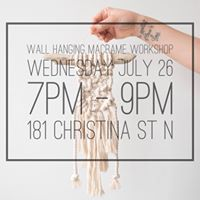 Wall Hanging Macrame Workshop