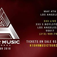 H1GHR MUSIC TOUR 2018 in Los Angeles