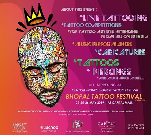 Bhopal Tattoo Festival  Chapter 2