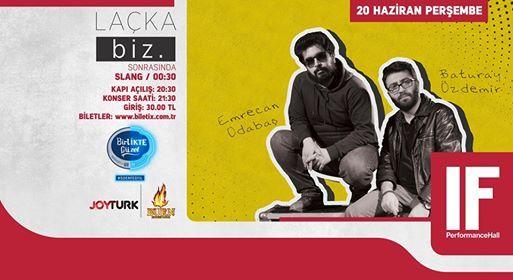 LAKA biz.  IF Performance Hall Ankara