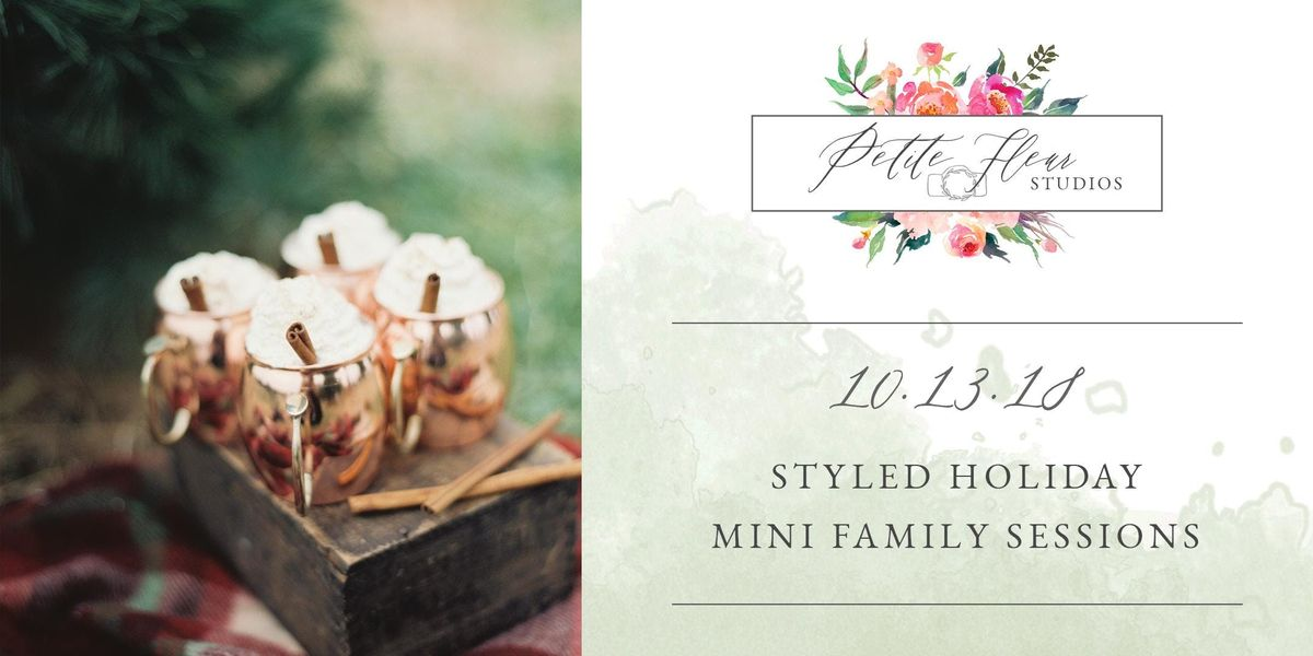 Styled Holiday Mini Family Sessions