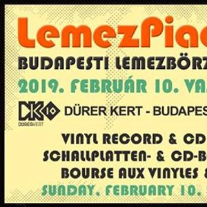 Februri LemezPiac  Budapesti Lemezbrze