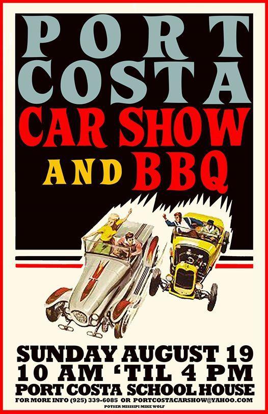 Port Costa Car Show BBQ California - Antioch ca car show 2018