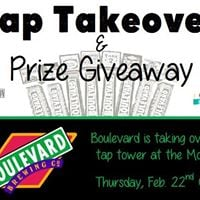 Boulevard Tap Takeover &amp Prize Giveaway