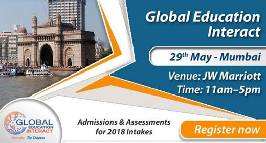 Welcome To Global Education Fair 2018 Mumbai By The Chopras