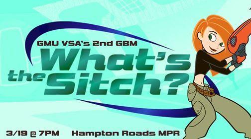 GMU VSAs 2nd GBM: Whats the sitch? at Hampton Roads MPR, Hampton