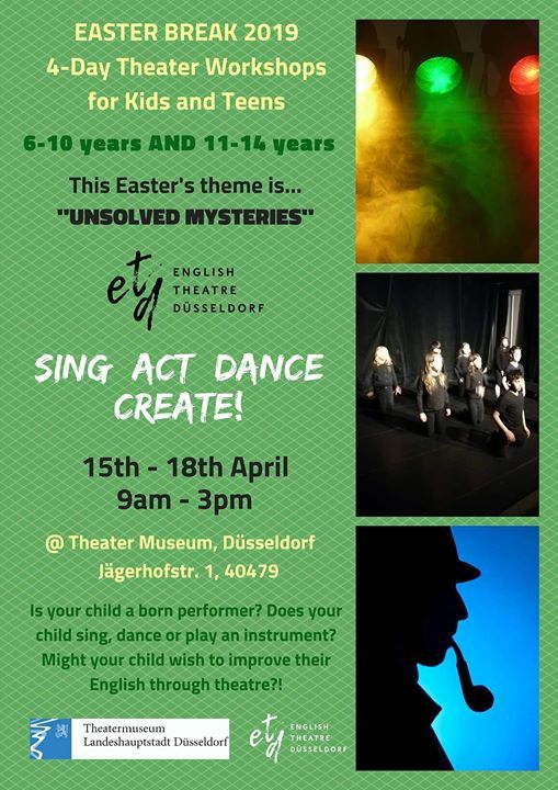 Easter 4-Day Theater Workshop for kids