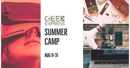 Geek Express August Summer Camp