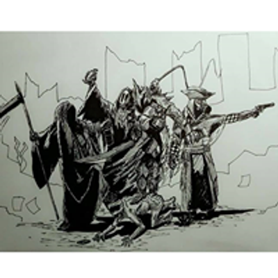 Czterej Jeźdźcy Apokalipsy - seria past