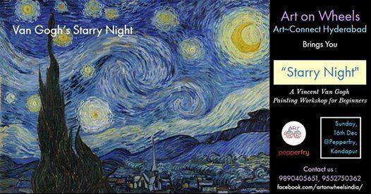 ArtConnect HYD  Starry Night - Kondapur