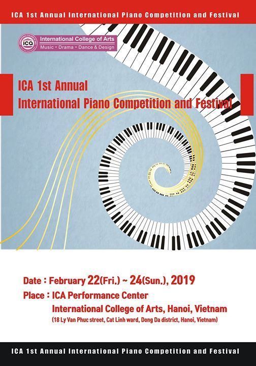 ICA International Piano Competition & Festival | Hanoi