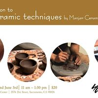 Introduction to Basic Ceramic Techniques by Manjar Ceramics