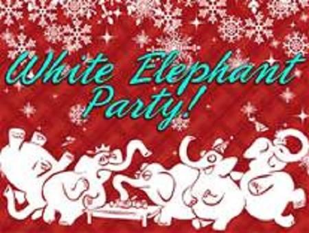 valerie and reneas christmas white elephant gift exchange community blitz - Christmas White Elephant