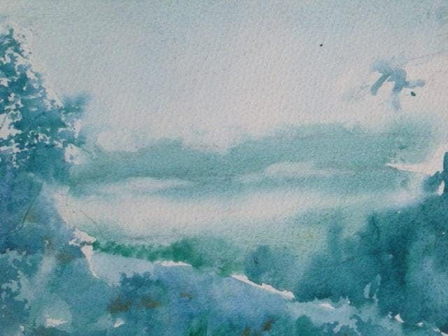 The Zen Approach to Landscape in Watercolor with Kevin Kuhne