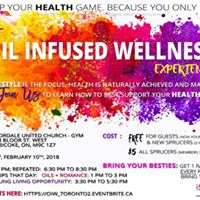 Multiple Events 1 Day - Oil Infused Wellness  Blue Spruce Club