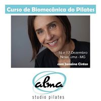 Curso de Biomecnica do Pilates com Janana Cintas