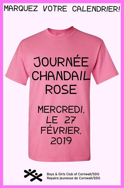 Journe chandail rose - Contrer lintimidation