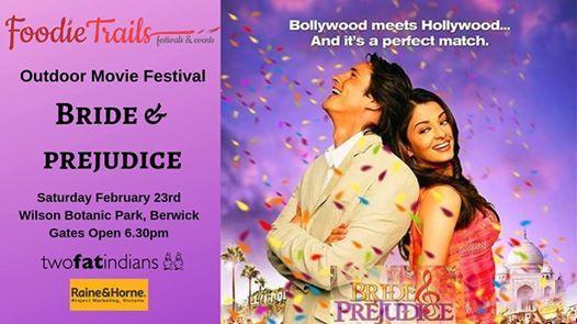 Outdoor Movie Festival- Bride & Prejudice