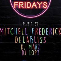 HIP HOP NIGHT W MITCHELL FREDERICK DELABLISS DJ MARZ &amp DJ LOPZ ...