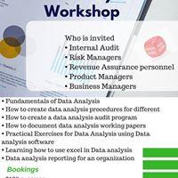 Data Analysis Workshop 28 July 2017