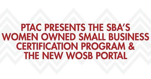ptac presents the sba's - wosb certification program at del mar ...