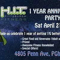 HIT Pittsburgh Fitness 1 Year Anniversary Party and Pot Luck