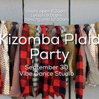Kizomba Plaid Party Sept 30