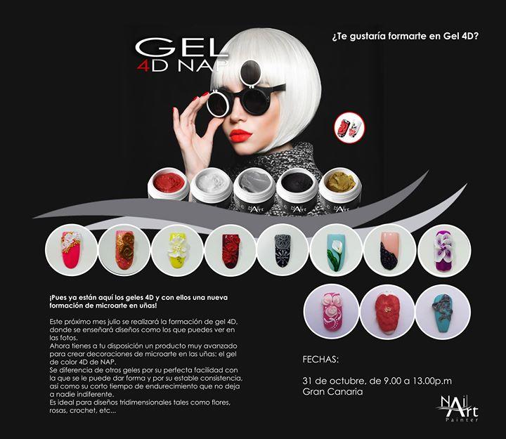 Formación Gel 4d At Nail Art Painter Spain Las Palmas