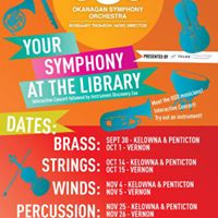 Your Symphony at the Library presented by TELUS Community Board