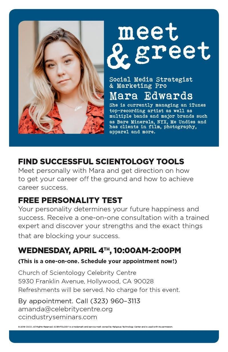 Meet Greet With Social Media Strategist Los Angeles County