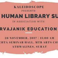 Human Library Surat