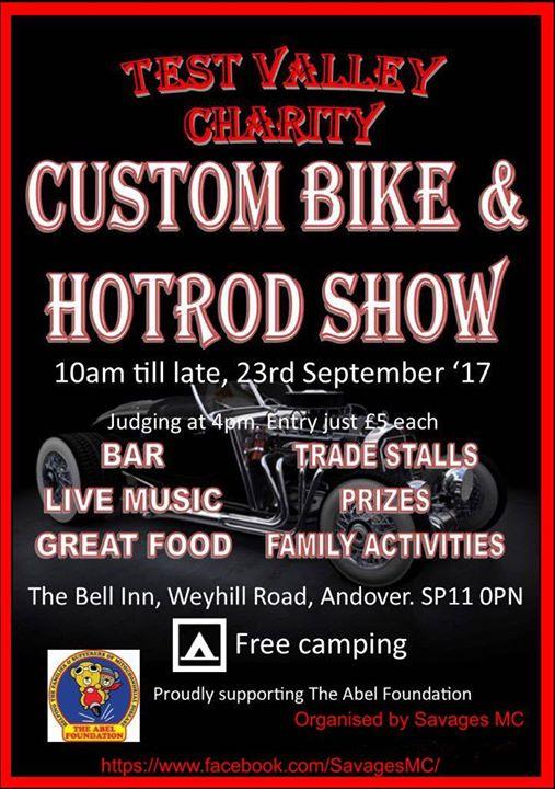 Charity Custom Bike & Hod Rod Show