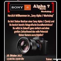 SONY Alpha 7 (Serie) Workshop