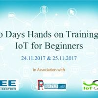 Two Days Hands-on Training On Internet Of Things(IoT) For Beginners