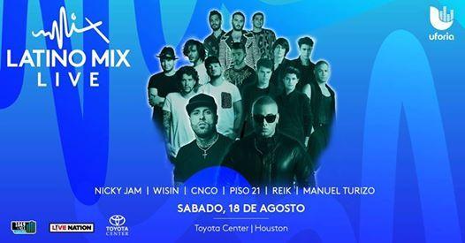 Latino Mix Live Houston 2018
