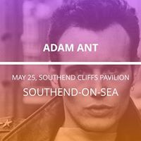 Adam Ant in Southend