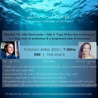 Dive Deep - Essential Oil Make and Take  Yoga Nidra