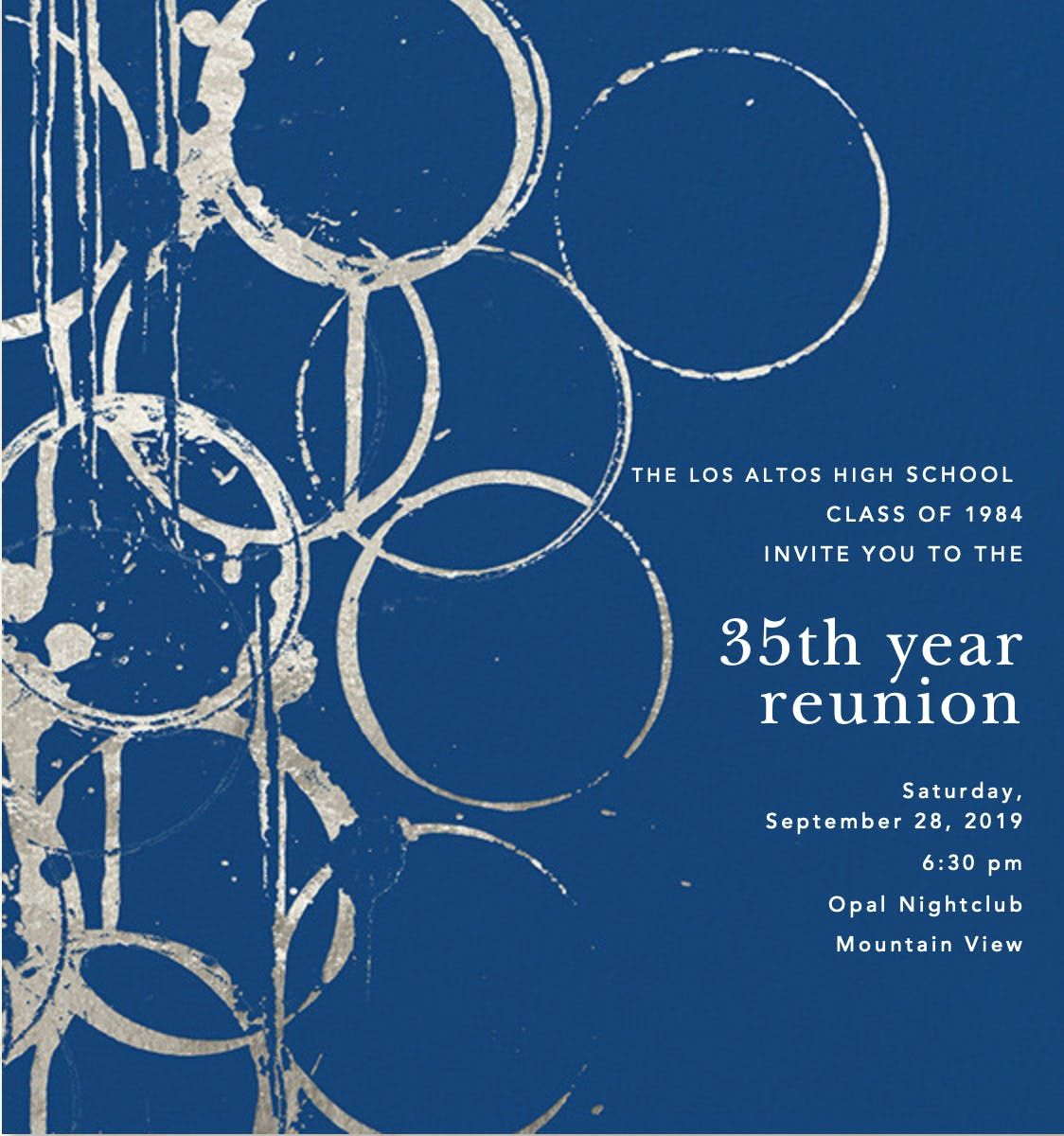 LAHS Class of 1984 Reunion