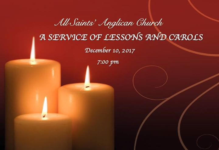 Carol Service @ All Saints' Anglican Church | Fort McMurray | Alberta | Canada