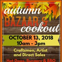Autumn Bazaar &amp Cookout