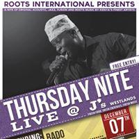 Bado In Concert Thursday Nite Live at Js Westlands