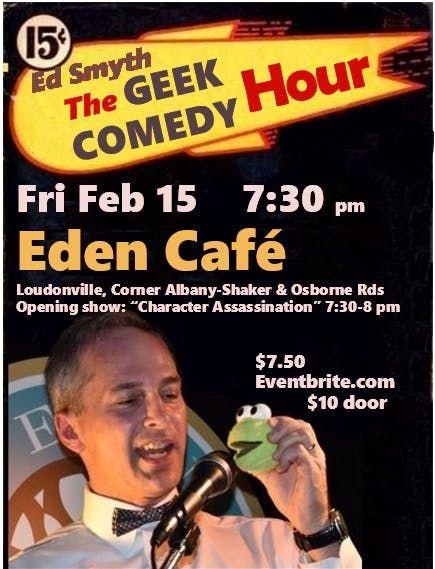The Geek Comedy Hour w Ed Smyth