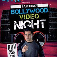 Bollywood Video Night feat. DJ VISPI -Saturday Nov 25th