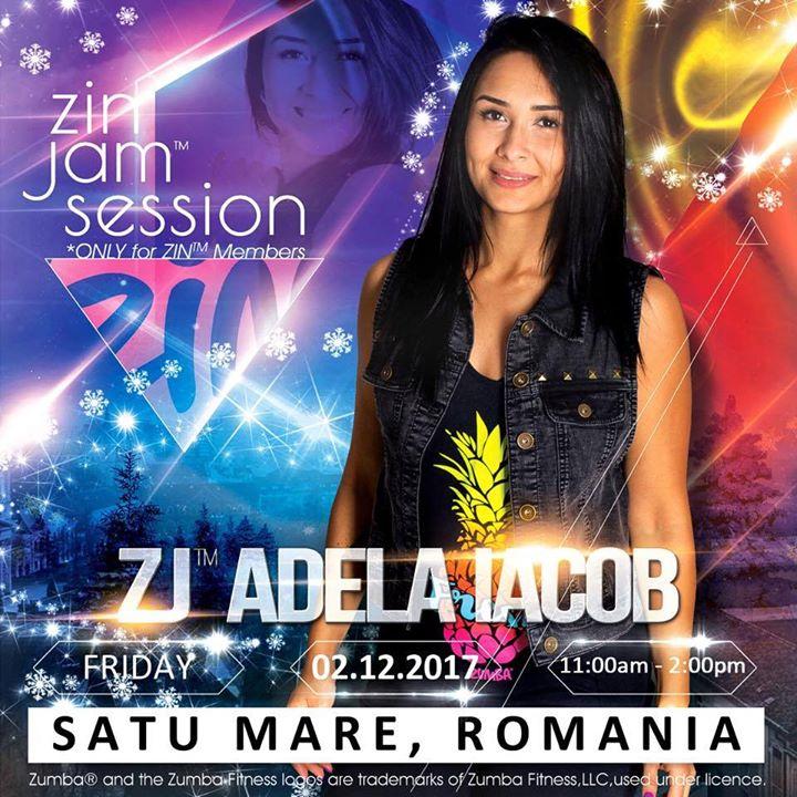 Zumba ZIN JAM Session with Adela Iacob