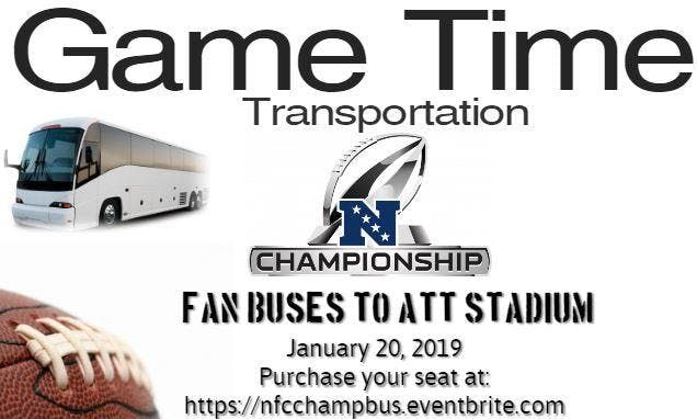 Cowboys vs  TransportationShuttle - NFC Championship