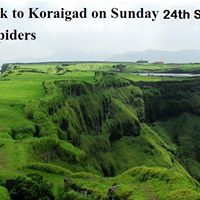 One day trek to Koraigad fort on 24th Sept. Sunday
